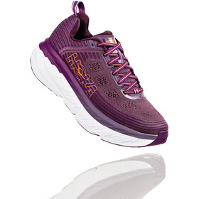 Hoka One One Bondi 6 Running Shoes Dame arctic dusk/grape juice